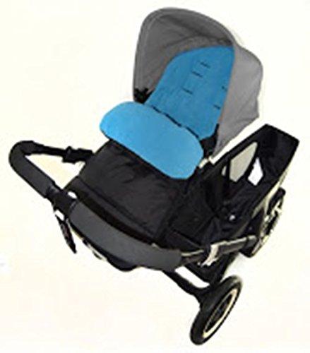 Saco cubrepiés compatible con carrito Bebecar Stylo, color azul océano: Amazon.es: Bebé