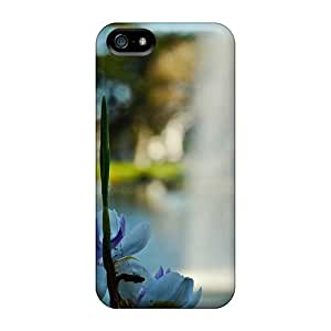 "Anti-scratch Case Cover Touching Rhythms Protective Flower - ""water Jet"" Case For Iphone 5/5s"