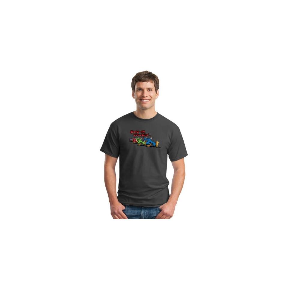 Keep On Truckin Apparel, Robert Crumbs Keep On Truckin Guys, Mens Cotton T Shirt