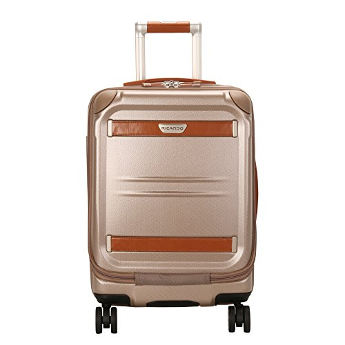 Price comparison product image Ricardo Beverly Hills Ocean Drive 19-Inch Spinner Mobile Office Carry On Luggage, Sandstone