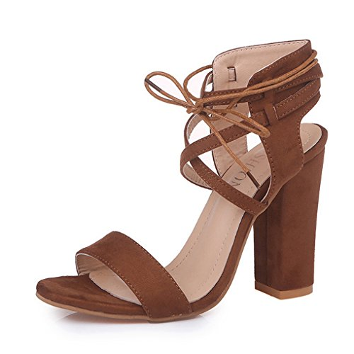 Dovaly Women Sandals Sexy Roman Wind Cross Strap 10cm Solid Gladiator High Heels Sandals