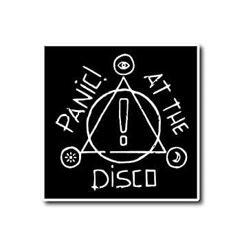 Panic at the disco sticker rock band decal for car window bumper laptop