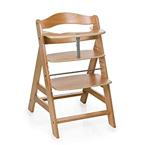 hauck alpha wooden highchair baby. Black Bedroom Furniture Sets. Home Design Ideas