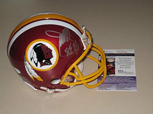 (Joe Gibbs Autographed Washington Redskins Mini Helmet JSA COA)