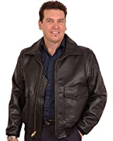 Buy a USA Made Gift! G1 Navy Flight Jacket in Cowhide-Plain Leather Collar