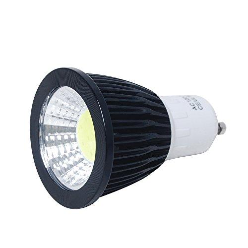 1¡ÁJAMBO GU10 COB LED Spotlight Day White 7W AC100-240V 50