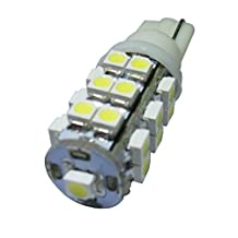 GRV T10 921 194 25-3528 SMD Wedge LED Bulb lamp Super Bright Cool White DC 12V Pack of 10