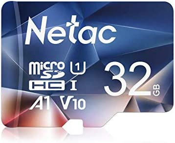 Netac Micro SD Card 32GB,MicroSDHC Card 32GB Memory Card,UHS-I, 90MB/s, 600X, U1, C10, V10, A1, FAT32 TF Card Micro SD Card