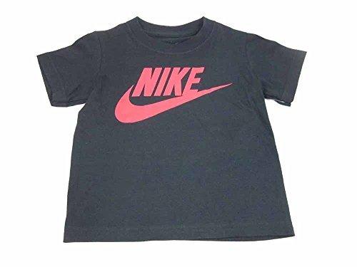 NIKE Boys Toddler T-Shirt (3T, Black/Red (767065)) ()