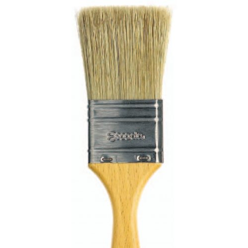 Escoda Natural 8247 Oil and Acrylic Natural Chungking Bristle Paint Brush Varnish Double Thickness Size 21 by Escoda