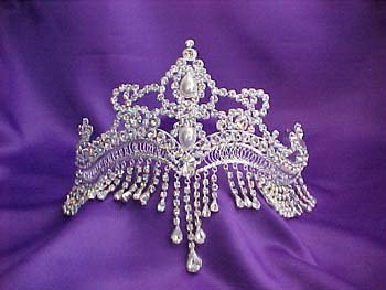 Egyptian Tiara Crown Forehead Jewelry Pageant P4968