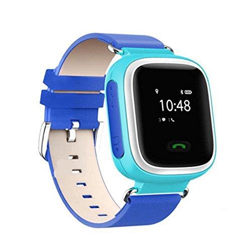 Q60 Kinder Smart Watch Smart Uhr GPS / LBS - Blau