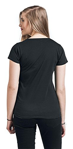 Minions Einhorn - Love Fluffy Camiseta Mujer Negro Negro