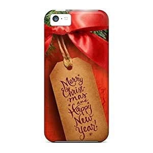 New Merry Christmas Holidays Tpu Skin Case Compatible With Iphone 5c