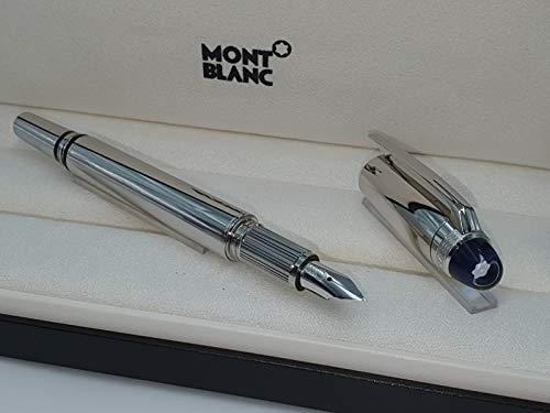 Montblanc Starwalker Metal Line - Blue Cap Fountain Pen No 118875