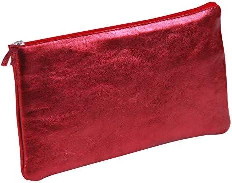 Clairefontaine Cuirisé Estuches, 22 cm, Rojo (Rosso): Amazon.es: Equipaje