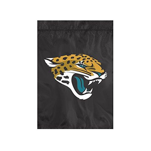 (The Party Animal NFL Jacksonville Jaguars NFL Garden Flag, Black, 18