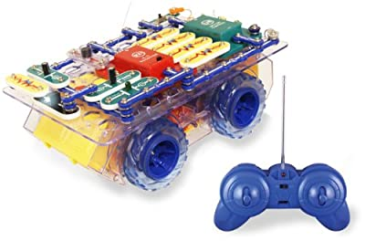 Snap Circuits R/C Snap Rover Electronics Discovery Kit by Elenco Electronics Inc