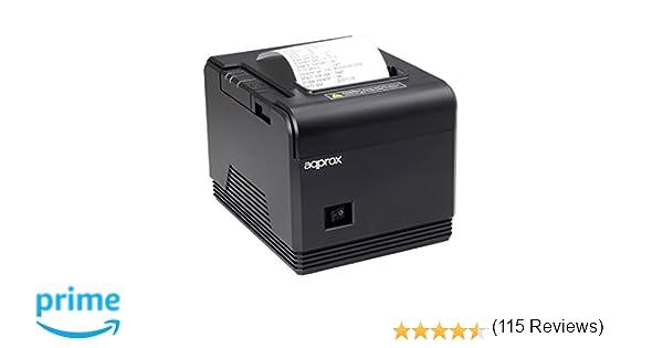 Approx APPPOS80AM - Impresora Térmica de Tickets, 200 mm/s, Papel ...