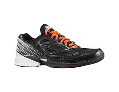 adidas Running Men's Crazy Fast Running Shoe,Black/Running White/Medium Lead,10 D US