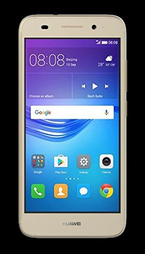 Huawei Y5 Lite 2017 CRO-L23 5.0″ 4G LTE Quad Core 8GB 8MP Smarthphone Factory Unlocked (Gold) (International Version- No Warranty)