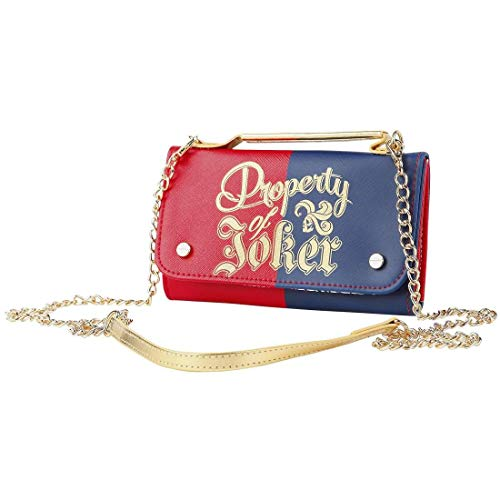 Property of Joker Womens Chain Wallet Standard