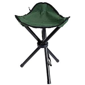 Amazon Com Ottab Outdoor Waterproof Tripod Foldingl Chair