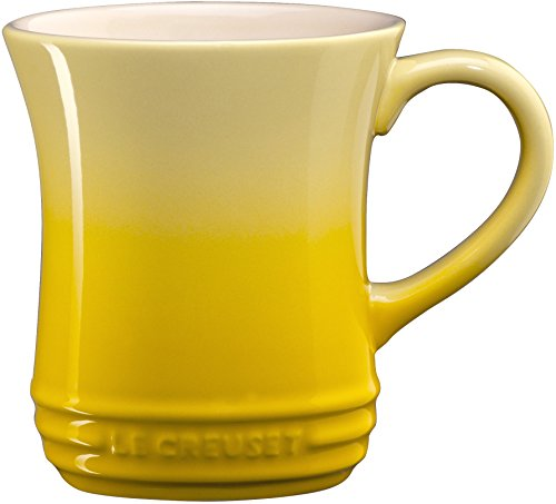 Le Creuset PG8006-001M Stoneware Tea Mug, 14oz, Soleil