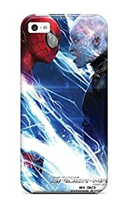 New Style 2145685K87046498 Premium Durable The Amazing Spider-man 2 Movie Pictures Fashion Tpu Iphone 5c Protective Case Cover