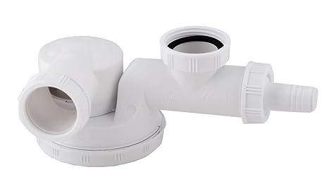 Single Space Saving Kitchen Sink Drain Waste Trap 1/2\