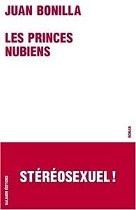 Les Princes nubiens par Juan Bonilla