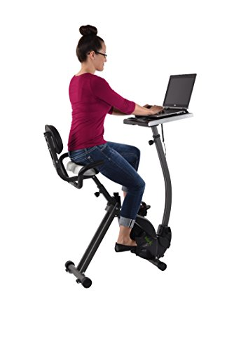 Wirk Ride Exercise Bike Workstation and Standing Desk