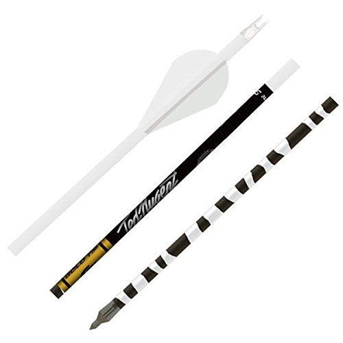 Gold Tip Ted Nugent Arrows with Raptor Vane (Pack of 6)