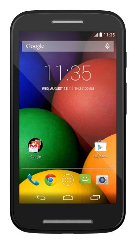 Motorola Moto E (1st Generation) – Black – 4 GB – US GSM  Unlocked Phone