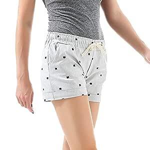 NSDKFF Pantalones Cortos De Mujer La Mujer Shorts Deportivos Home ...