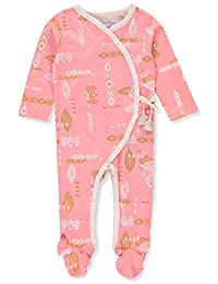Jessica Simpson Baby Girls' Footed Coverall