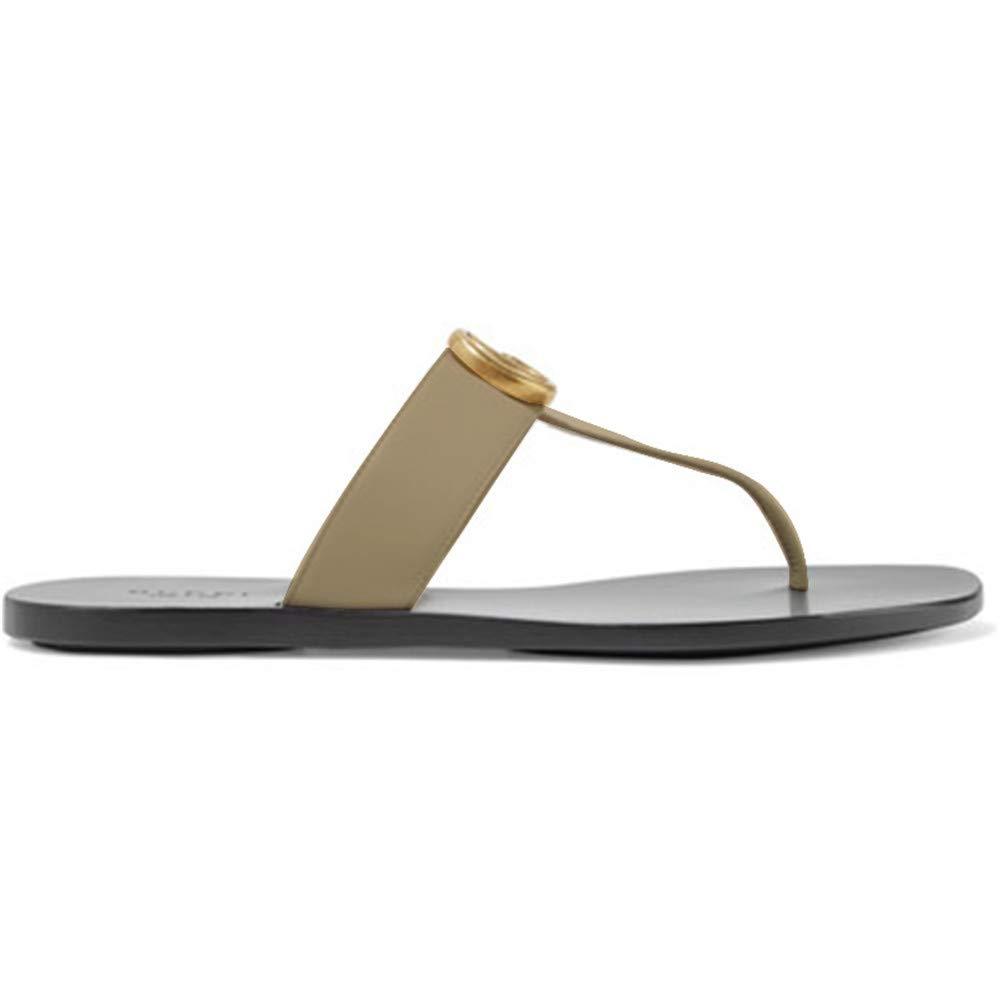 AYHNL Tongs Eté Chaussons Sandales Plates Chaussures Femme Tongs Pantoufles Sandales Femmes