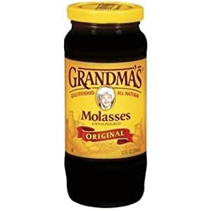 Grandma Unsulphered Baking Molasses 4 Can 1 Gallon