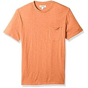 Best Epic Trends 412IphTkKuL._SS300_ Amazon Brand - Goodthreads Men's Lightweight Slub Crewneck Pocket T-Shirt