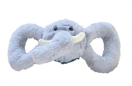 Jolly Pets Jolly Tug-a-Mal Elephant Tug/Squeak Toy, Small ()