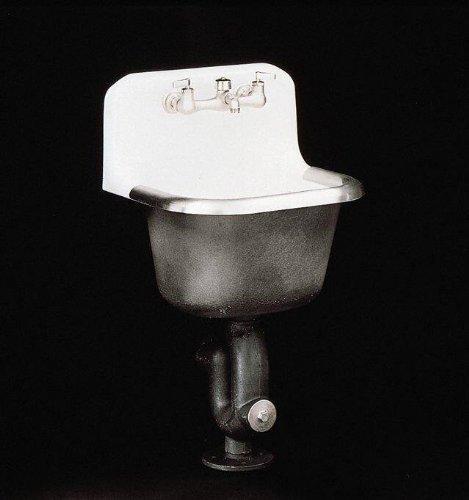 KOHLER K-6716-0 Bannon Service Sink, White by Kohler