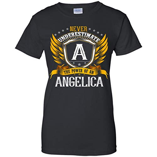 Women's Never Underestimate The Power of an Angelica Shirt - Tshirt ()