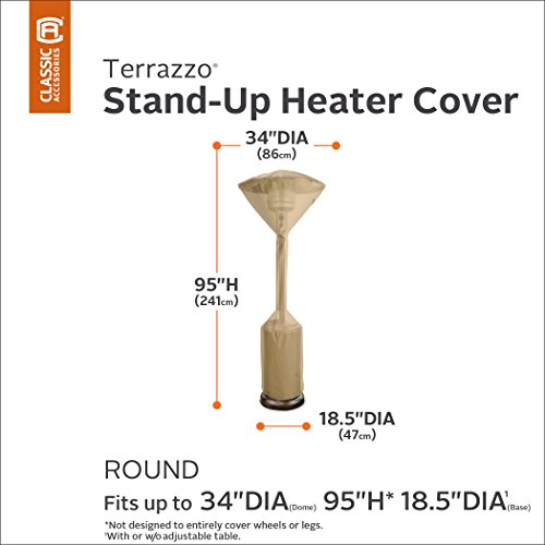 Classic Accessories 53112-EC Terrazzo Standup Heater Cover