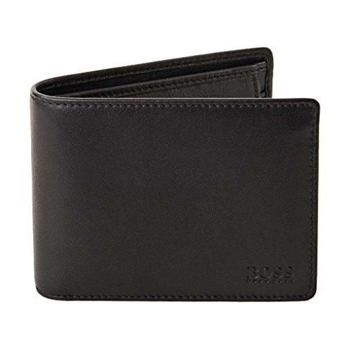 BOSS Hugo Boss Men's Arezzo Wallet, Black, One Size by Hugo Boss