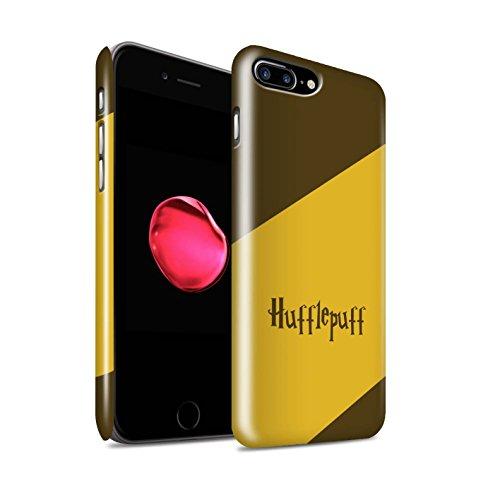 School Hardback - STUFF4 Gloss Hard Back Snap-On Phone Case for Apple iPhone 7 Plus / Hufflepuff House Design / School Of Magic Collection
