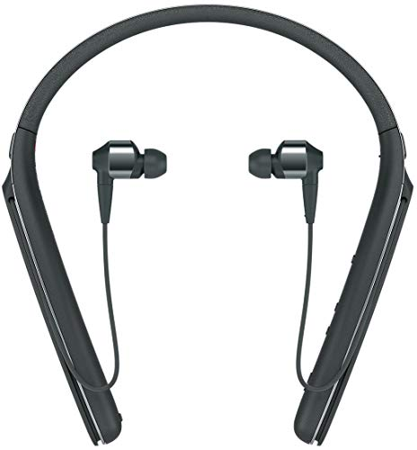Sony WI1000X Premium Noise Cancelling Wireless Behind-Neck In Ear Headphones (International version/seller warranty) (Black) ()