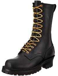 Men S Fire Safety Boots Amazon Com