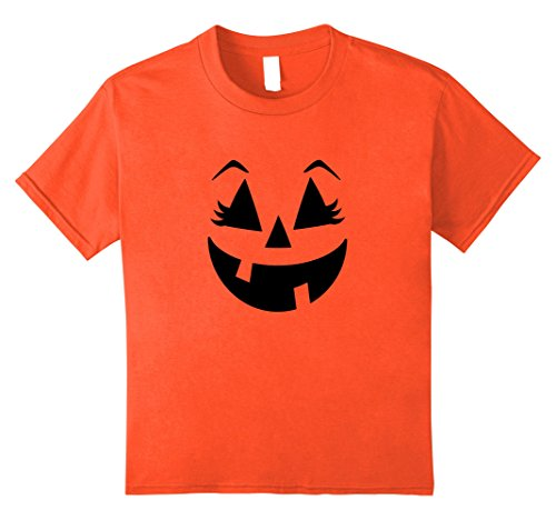 Cute Kid Halloween Costumes Ideas (Kids Halloween Pumpkin Shirt | Cute Costume T Shirt Gift Idea 10 Orange)