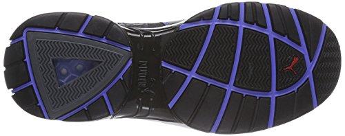 Puma Pace Sicherheitsschuhe S1P HRO SRA Nubukleder mit Sandwich-Mesh, Kunststoffkappe, flexibler Durchtrittschutz, Gummisohle, 45