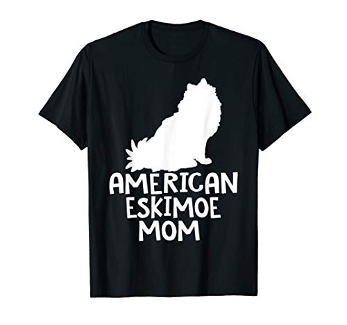 American Eskimo Mom Dog Mother's Day T -